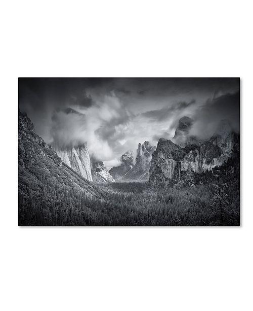 "Trademark Global Mike Leske 'Yosemite Valley' Canvas Art - 47"" x 30"" x 2"""