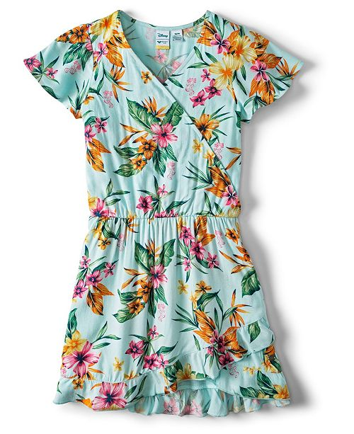 Roxy Her Fantasy Disney Woven Short Sleeve Dress