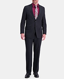 Men's Active Series Classic-Fit Stretch Moisture-Wicking Herringbone Suit Separates