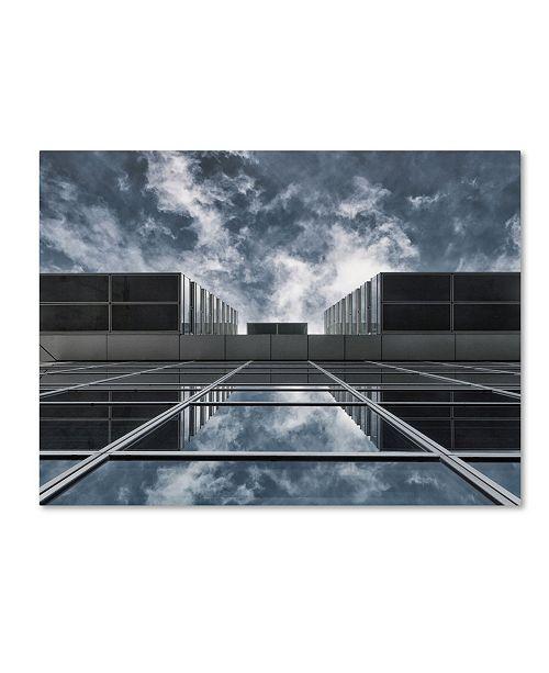 """Trademark Global Jeroen Van De Wiel 'Above The City' Canvas Art - 32"""" x 24"""" x 2"""""""