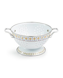 Martha Stewart Collection La Dolce Vita 1.5-Qt. White Colander, Created for Macy's