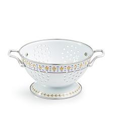 Martha Stewart Collection La Dolce Vita 1.5-Qt. White Colander, Created for Macy's
