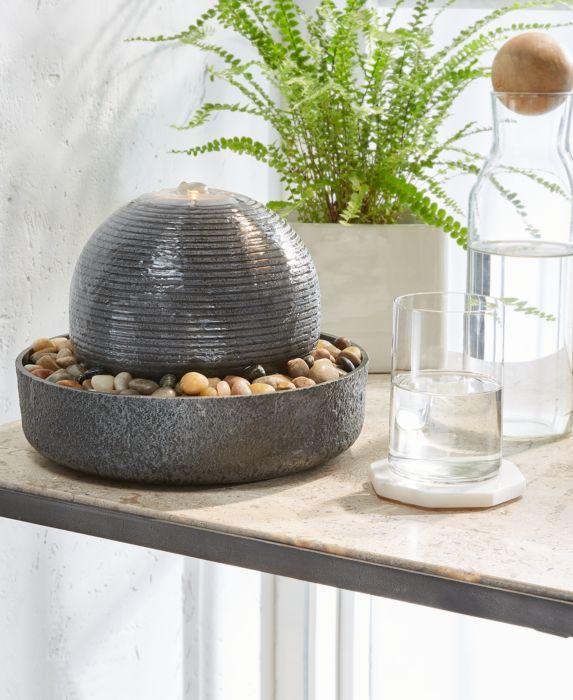 HoMedics Cascade Relaxation Fountain, Gray, Size: No Size