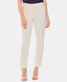 Vince Camuto Pinstriped Ankle Pants