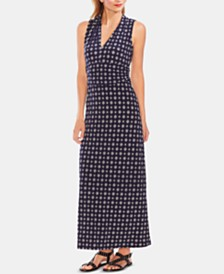 Vince Camuto Printed Maxi Dress