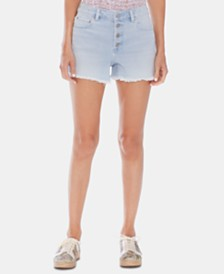 Vince Camuto Button-Fly Shorts