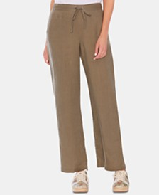 Vince Camuto Linen Drawstring Pants