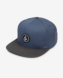 Volcom Men's Quarter Snap-Back Hat