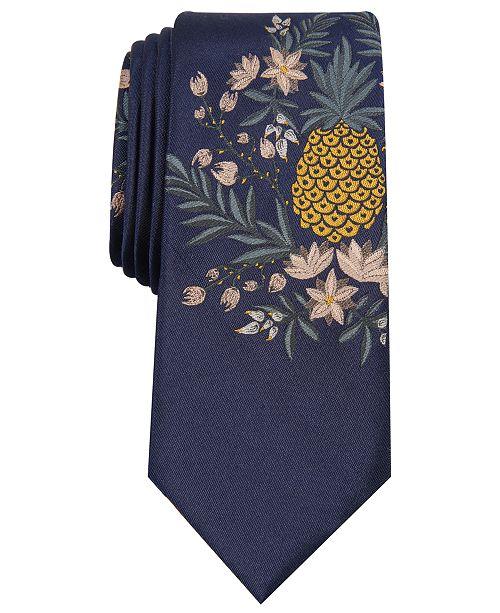 Cravate a Bar Cravates Pocket Bleu marine de skinny d'ananas pour pourCommentaires panneau Carres IiiCree Homme hommes SMVzpU