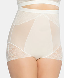 SPANX Women's  Plus Size Spotlight on Lace High-Waisted Brief 10121P