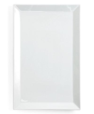 The Cellar Whiteware Large Rectangular Platter, Created for Macy's