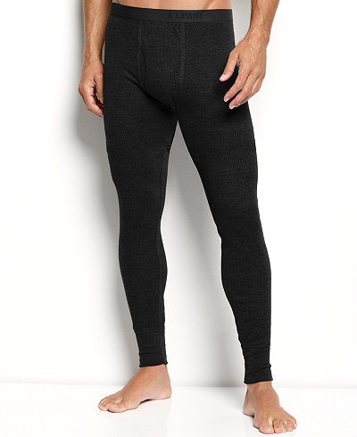 Alfani Men's Big & Tall Thermal Pants, Created for Macy's