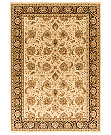 "CLOSEOUT! Kenneth Mink Area Rug, Warwick Kashan Wheat/Black 7'10"" x 10'10"""