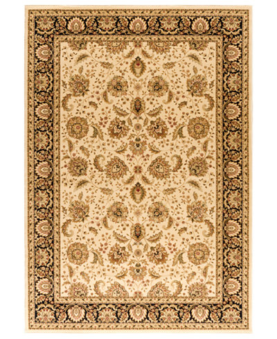 CLOSEOUT! Kenneth Mink Rugs, Warwick Kashan Wheat/Black