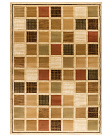 "CLOSEOUT! Kenneth Mink Area Rug, Northport MON-101 Multi 5'3"" x 7'7"""