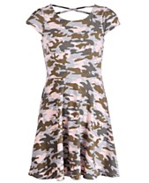 88f86d539 Epic Threads Big Girls Camo-Print Skater Dress, Created for Macy's