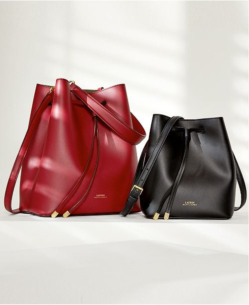 75ae58754f Lauren Ralph Lauren Dryden Debby Leather Drawstring   Reviews ...