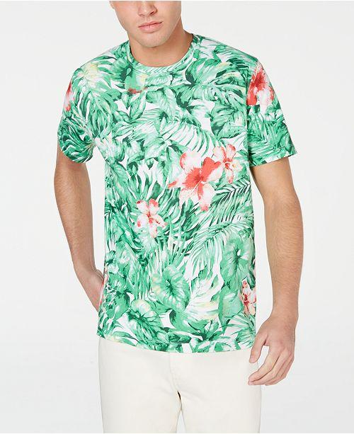 Jungle PourAvis Michael Fougère HommeCree T shirt shirts Hommes Kors Vert Graphic T kuPXZTOi