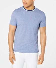 Michael Kors Men's Birdseye Weave Tipped T-Shirt