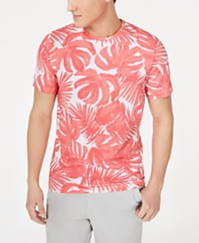 Michael Kors Men's Palm Graphic Mesh T-Shirt