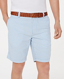 """Men's Jerry Gingham 9"""" Shorts, Created for Macy's"""