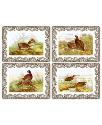 Table Linens, Set of 4 Woodland Placemats