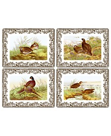 Spode Table Linens, Set of 4 Woodland Placemats