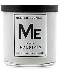 Melted Element Maldives Soy Candle, 11-oz.