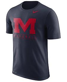 Nike Men's Ole Miss Rebels Team Issue Baseball T-Shirt