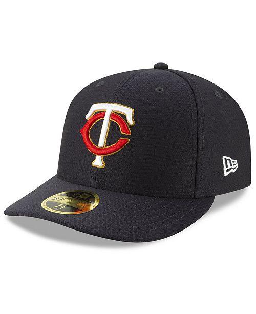 3e37b0d4df770 ... New Era Minnesota Twins Batting Practice Low Profile 59FIFTY-FITTED Cap  ...
