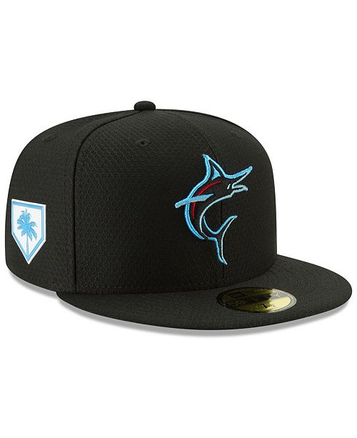 detailed look 4c0b8 b4d93 New Era Miami Marlins Spring Training 59FIFTY-FITTED Cap ...