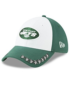 New Era New York Jets Draft 39THIRTY Stretch Fitted Cap