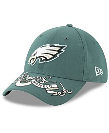 New Era Philadelphia Eagles Draft 39THIRTY Stretch Fitted Cap