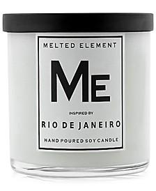 Rio de Janeiro Soy Candle, 11-oz.