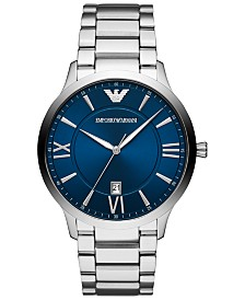 Emporio Armani Men's Stainless Steel Bracelet Watch 44mm