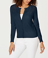 a44f0b5a Charter Club Pointelle-Knit Cardigan, Created for Macy's