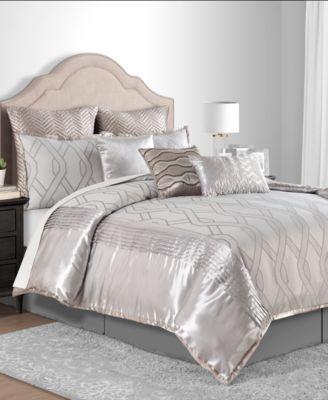Winston Taupe Full 10-Pc. Comforter Set