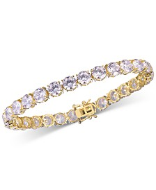 Tiara Cubic Zirconia Tennis Bracelet