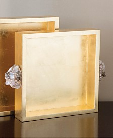 Astoria Quartz Square Trays (Set of 2)