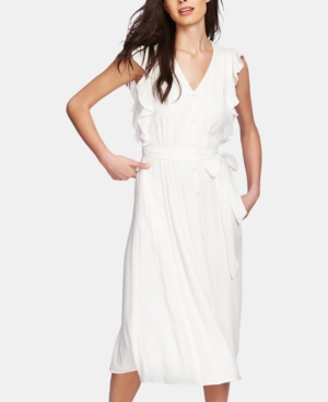 Image of 1.state Belted Midi Dress
