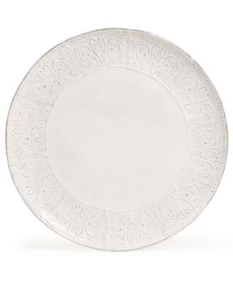 Blanc Colette Dinner Plate
