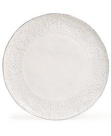 Maison Versailles Blanc Colette Dinner Plate