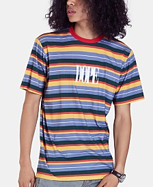 DOPE Men's Heritage Logo Stripe T-Shirt