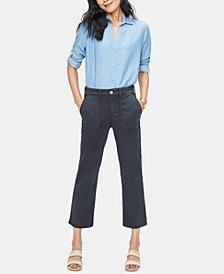 Marilyn Straight Ankle Chino Pants