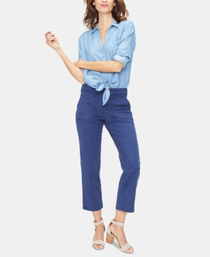 Nydj MARILYN STRAIGHT ANKLE CHINO PANTS