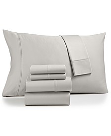 Sydney 6-Pc. Queen Sheet Set, 825-Thread Count Egyptian Blend, Created for Macy's