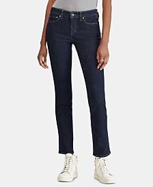 Lauren Ralph Lauren Petite Ultimate Slimming Premier Straight Jeans