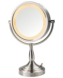 "The LT856N 8.5"" Tabletop Two-Sided Swivel Halo Lighted Vanity Mirror"