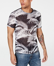 GUESS Men's Wynn Rest In Paradise Graphic T-Shirt