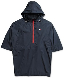 Tommy Hilfiger Adaptive Women's Dover Sport Poncho with Half-Zip Closure